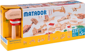 MATADOR Explorer E222 222 pcs Wood Building Set 5+ age