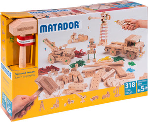 MATADOR Explorer E318 318 pcs Wood Building Set 5+ age