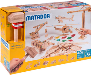MATADOR Explorer E407 407 pcs Wood Building Set 5+ age