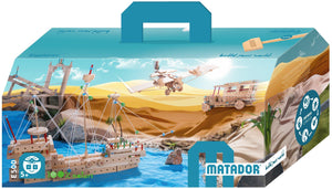 MATADOR Explorer E500 717 pcs Wood Building Set 5+ age