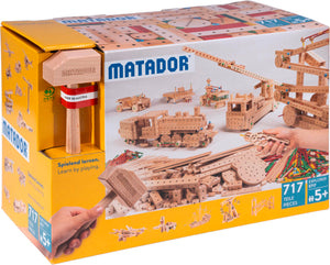MATADOR Explorer E717 717 pcs Wood Building Set 5+ age