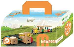 MATADOR Maker M100 70 pcs Wood Building Set 3+ age