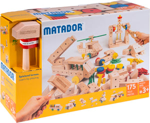 MATADOR Maker M175 175 pcs Wood Building Set 3+ age