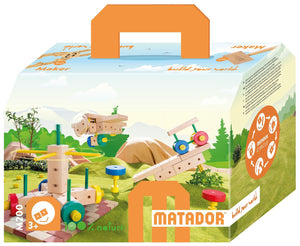 MATADOR Maker M200 108 pcs Wood Building Set 3+ age