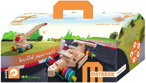 MATADOR Maker M400 263 pcs Wood Building Set 3+ age