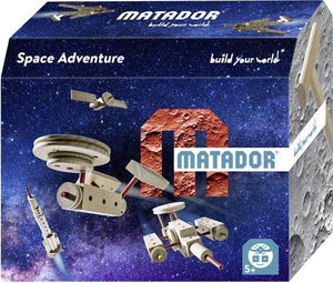 MATADOR Themeworld Space Explorer 42 pcs Wooden Construction Set 5+ age