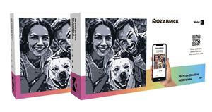 Mozabrick Photo Construction Set L Transform any Picture into Mosaic Wall Art