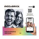 Mozabrick Photo Construction Set Transform any Picture into Mosaic Wall Art