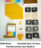 Mozabrick Photo Construction Set Transform any Picture into Mosaic Wall Art What You Get