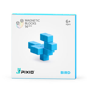 PIXIO Magnets Light Blue bird One Cole Series