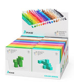 PIXIO Magnetic Blocks  Color Series and Free Mobile Application with Building Ideas
