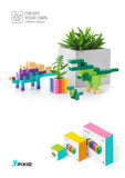 PIXIO Magnetic Blocks Design Series and Free Mobile Application with Building Ideas