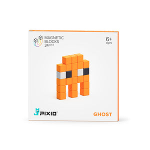 PIXIO Magnetic Blocks Mini Monster Ghost