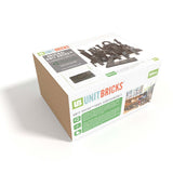 UNITBRICKS 100 pcs Standard Unit Rocks Building Set for age 2y+ Pratt Scale Eco-friendly