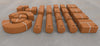 UNIT BRICKS 22 pcs Unit Bricks Building Set for age 2y+ Pratt Scale  eco-friendly