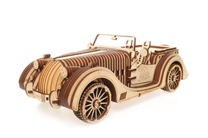 UGears Mechanical Model V-Series Roadster VM-01