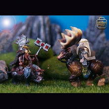 Load image into Gallery viewer, Pre-order Dain Ironfoot & Mount