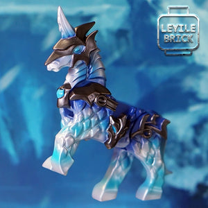 Guan Yu & Horse, Frozen Version