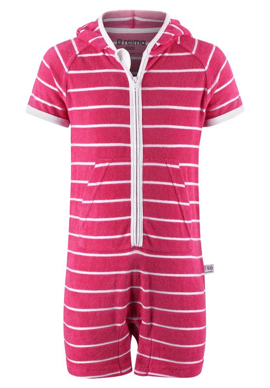 SunProof Terry One-Piece Overall Cover-Up - Oahu