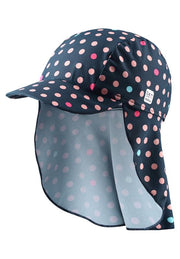 Kids' Navy sunhat Octopus
