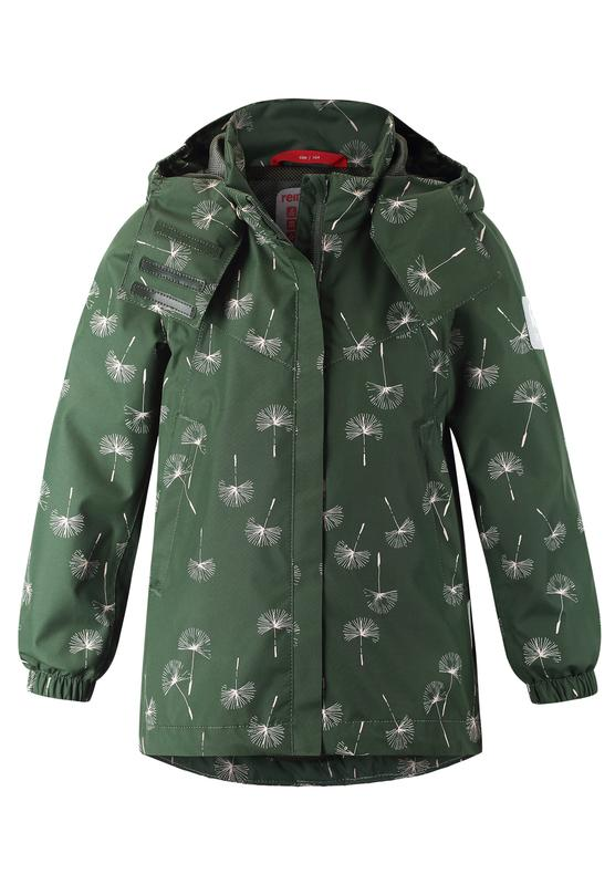 Kids' Green mid-season jacket Saltvik