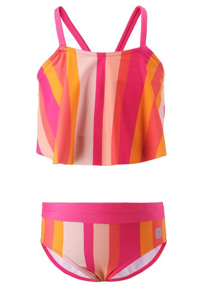 Girls Bikini with Flared Top & UPF 50+ Protection - Honolulu