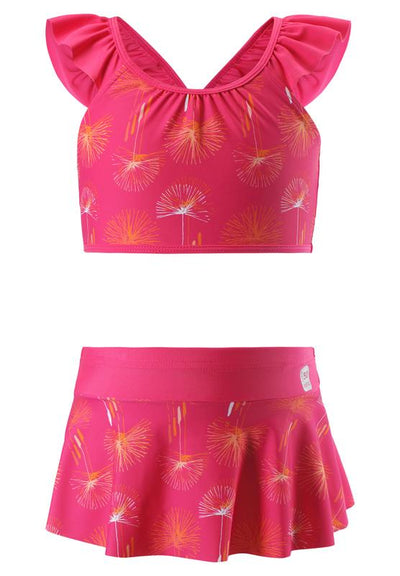 Girls SunProof Bikini with All-Over Decorative Frill and UPF 50+ Protection - Caribic