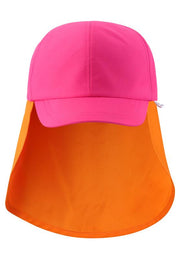 Multi-Colored Sunhat with UPF 50+ Protection & Back Brim - Tropisk