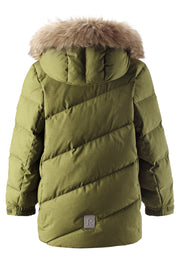 Juniors' down jacket Leiri