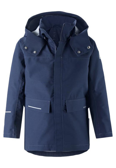 Kids' blue recyclable jacket Voyager