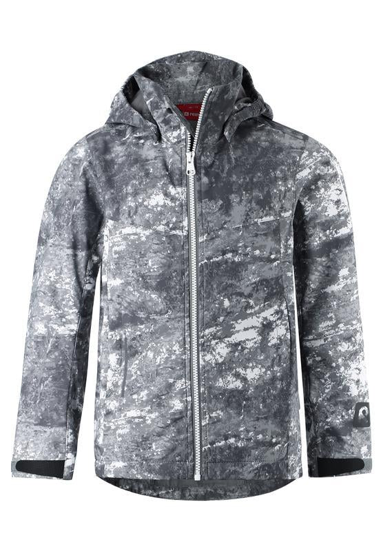 Kids' grey shell jacket Briknas