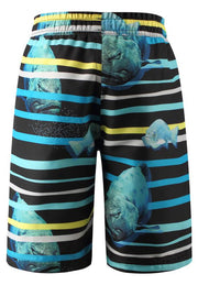 Boys Swim Shorts with Mesh Lining and UPF 50+ Protection - Cancun