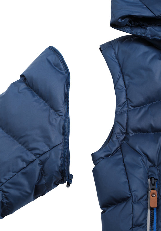Kids' 2in1 down jacket Martti