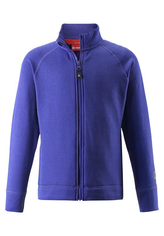 Kids' funnel-neck zip-thru jacket Rejse