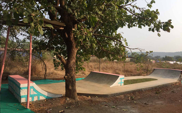Escobar skatepark in Goa