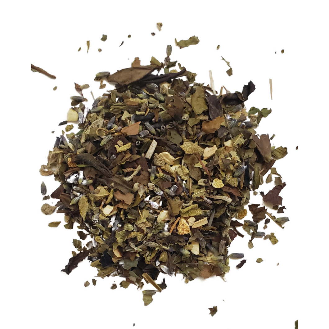Sage Lavender White Loose Leaf Tea
