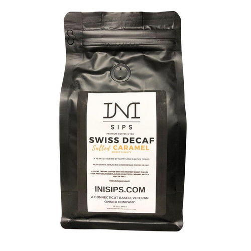 Swiss Decaf Salted Caramel Coffee (Ground)