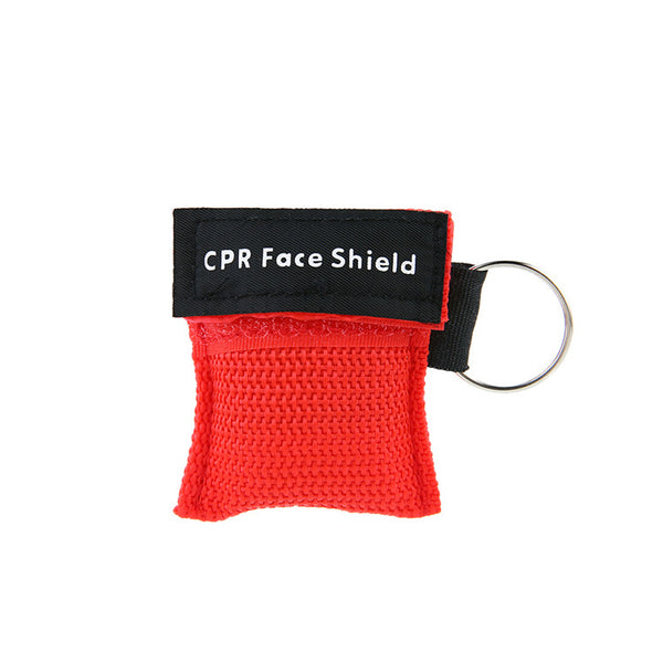 Disposable CPR Face Shield on Key Chain