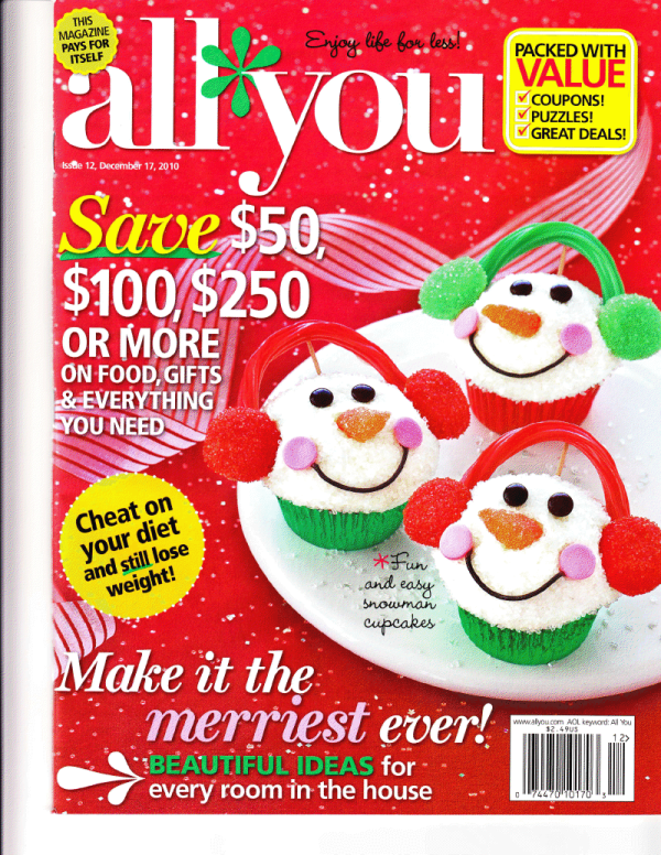 All You Magazine December 2010