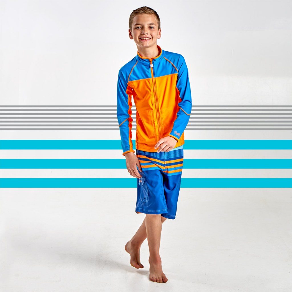 Water jacket for boys