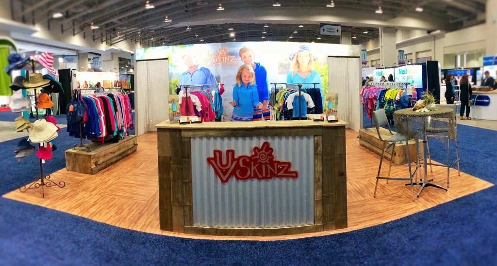 UV Skinz attending the 74th Annual AAD Annual Meeting