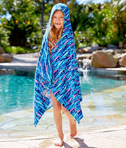 Kids Hooded Beach Towel