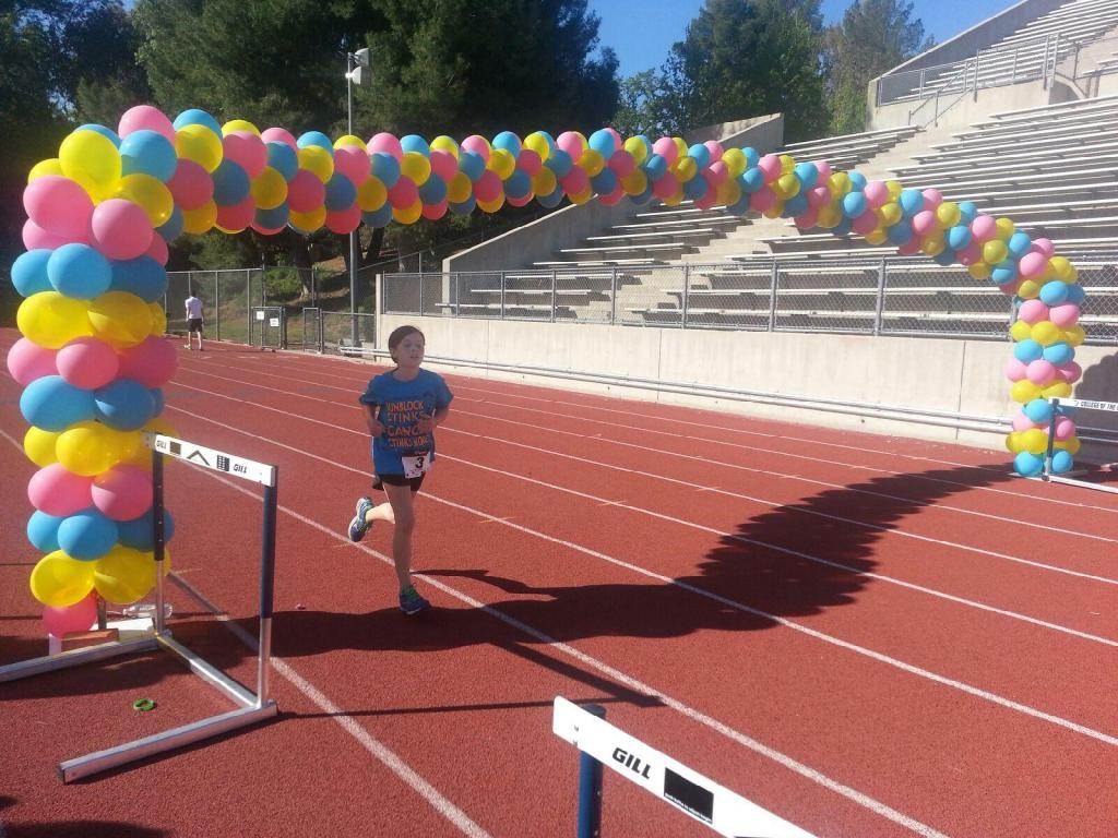 Running for a cure for skin cancer