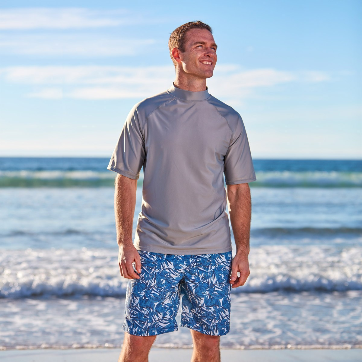 Men's sun protection clothing