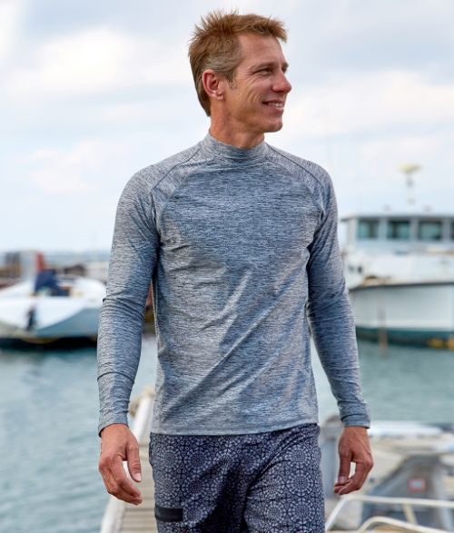 Long Sleeve Active Sun & Swim Shirt