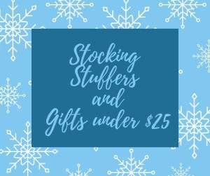 Stocking stuffers and gifts under $15