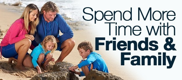 Spend More Time With Friends & Family