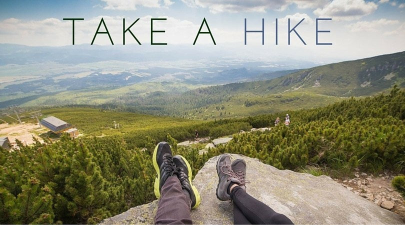 Date Idea: Go outside and take a hike!