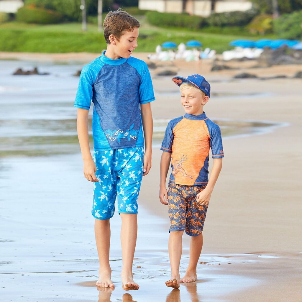 Sun protective clothing for boys