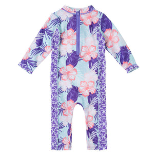 Baby Girl's Sun & Swim Play Suit